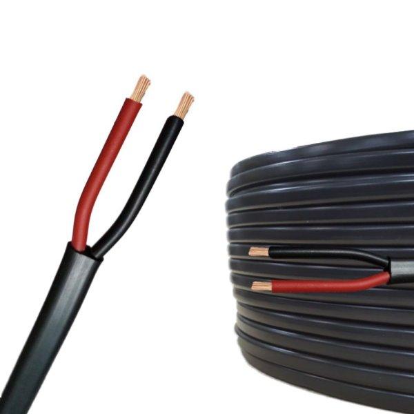 Flachkabel 2 polig/adrig x 1,5 mm² Meterware